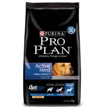 PRO PLAN ACTIVE MIND ADULT 7+ RAZAS MEDIANAS Y GRANDES 15 KG